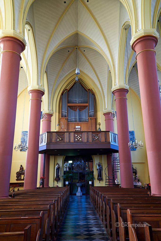 Vijlen, Sint-Martinuskerk, orgel Bernard Pels & Zn, 1963, II/P/17